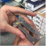 key gauge tool is to gauge the depth of the original cuts
